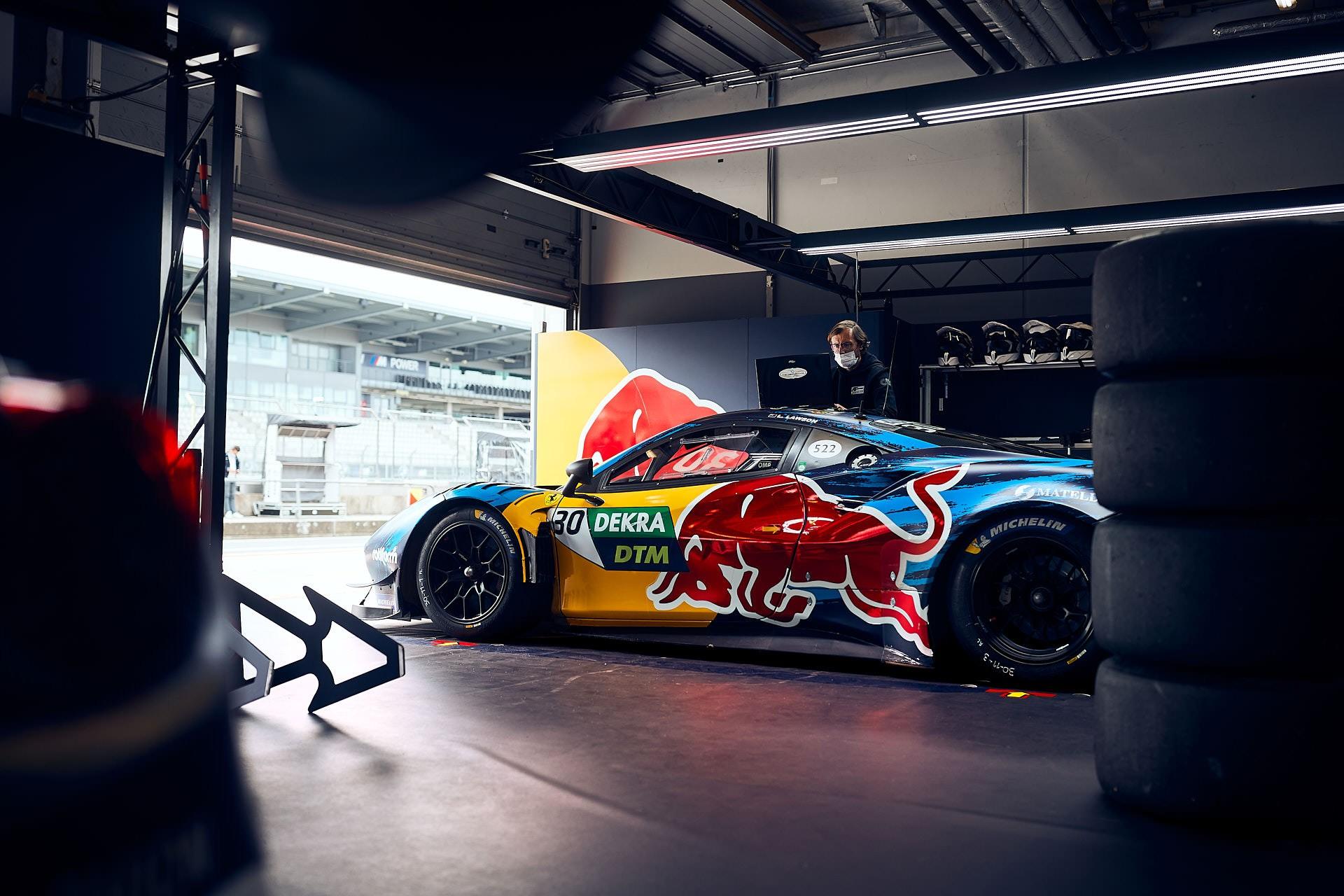 Studio Julian Kroehl Red Bull DTM